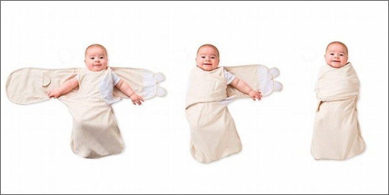 cách quấn khăn tắm cho bé