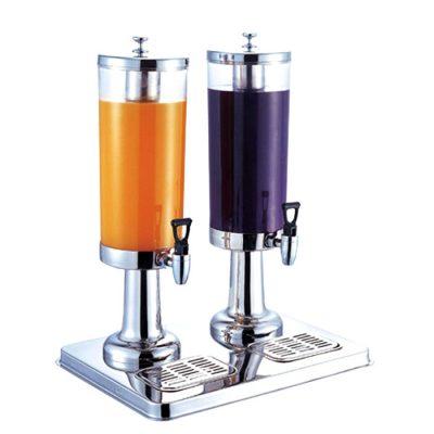 Bình đựng nước hoa quả đôi 2 ngăn 6 lít inox 304 121315