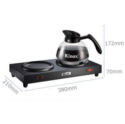 Kích thước Bộ bếp hâm bình cà phê Kinox chính hãng