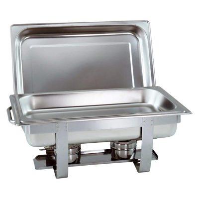 Mô tả Nồi hâm buffet chữ nhật 1 ngăn giá rẻ nắp rời AT771L63-1