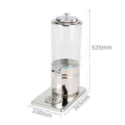 Kích thước Bình giữ nhiệt đựng nước trái cây 7 lít giữ lạnh bằng đá gel 1 ngăn AT90212