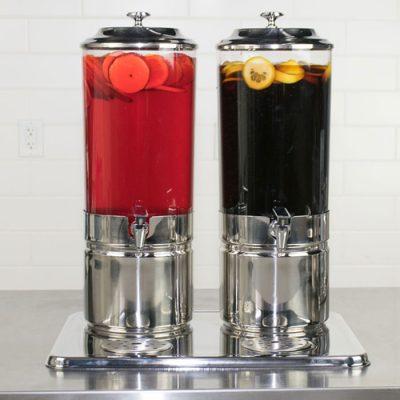 Bình đựng nước ép buffet 14 lít làm lạnh bằng đá gel 2 ngăn AT90212-2