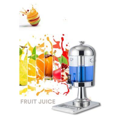 Bình nước hoa quả buffet 8 lít 1 ngăn cổ chân bằng inox BC2205-1