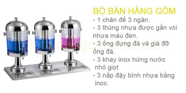 bộ bán hàng bình nước