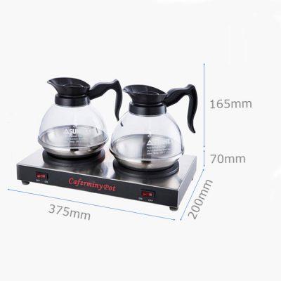 Kich thước Bộ bếp hâm cà phê cafermini pot và bình sunnex