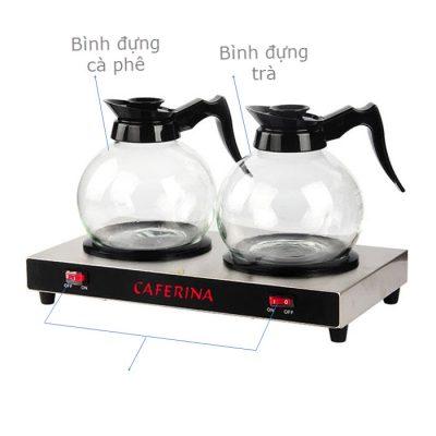 Hướng dẫn sử dụng bộ bếp hâm cà phê