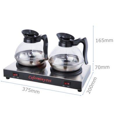 Kích thước Bộ máy hâm nóng cafe giá rẻ CF23-B6