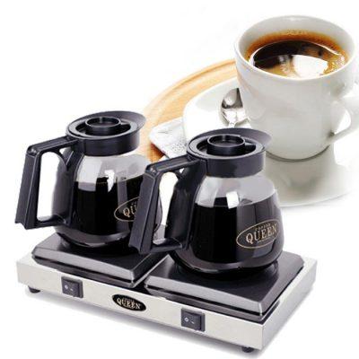 Mô tả bộ máy hâm cafe bình thuỷ tinh Queen Coffee chất lượng CQB-2