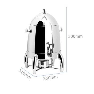 Kích thước Bình hâm cà phê trà inox dung tích12 lít AT80012