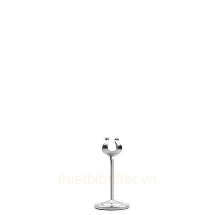 Cây menu đứng kẹp số bàn cao 150 mm inox CM6615 - MAYBE