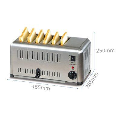 Kích thước máy nướng bánh mì
