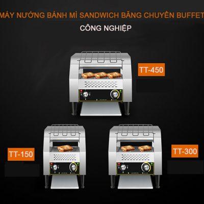 3 loại máy nướng bánh mì sandwich băng chuyền