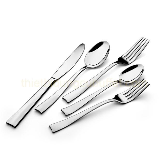 Hình ảnh bộ dao muỗng nĩa inox