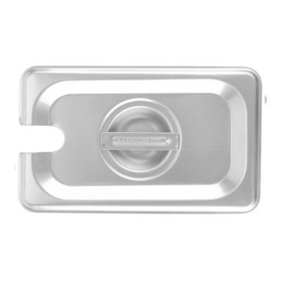 Nắp khay 1/9 inox 304 dày 0.7 mm có lỗ 7N19304-L