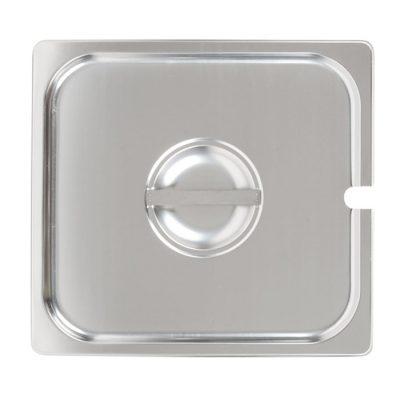 Nắp khay 2/3 inox 304 dày 0.7 mm có lỗ 7N23304-L
