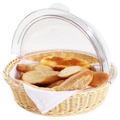 Khay trưng bày đựng bánh mì tròn KB-T