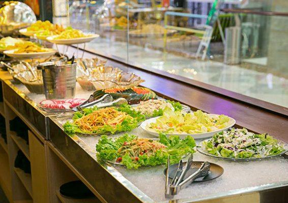 Hình ảnh buffet chay
