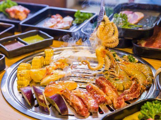 Hình ảnh buffet hải sản
