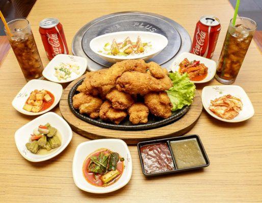 Hình ảnh buffet gà rán độc vị
