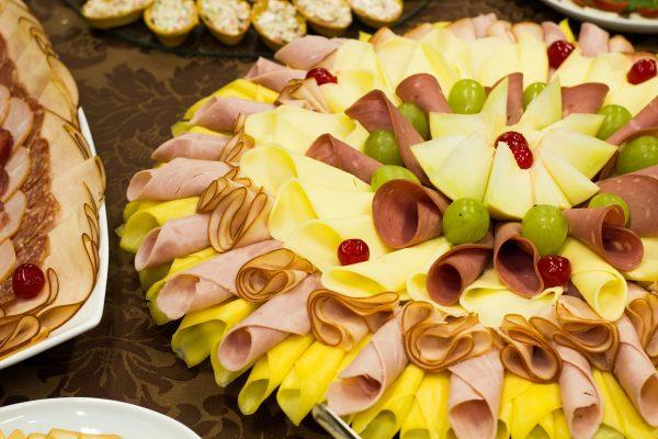 Hình ảnh buffet trái cây ngon