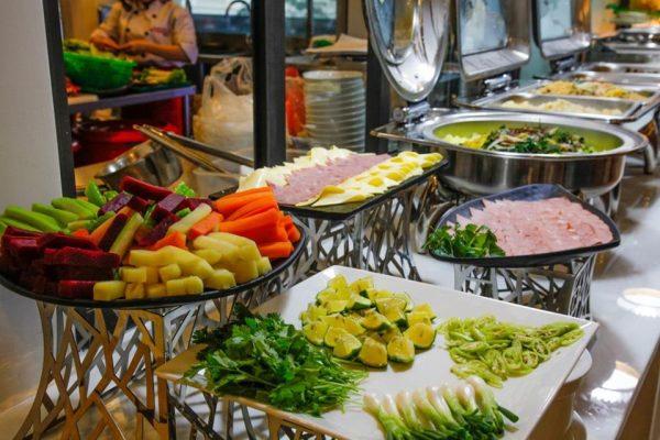 Hình ảnh buffet chay rau đà lạt