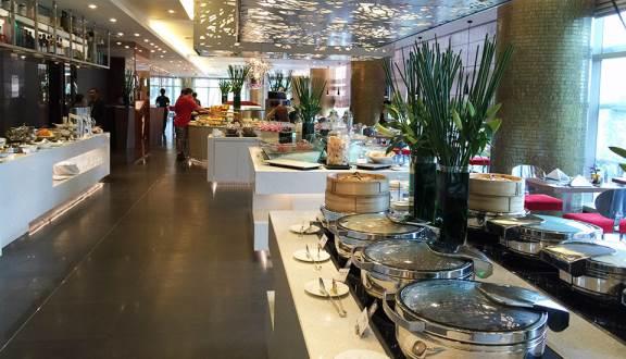 Hình ảnh nhà hàng buffet sang trọng