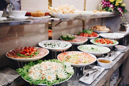 Thực đơn món khai vị trong bữa tiệc buffet sáng