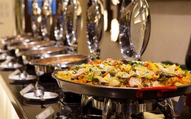 Các món buffet sáng kiểu mỹ