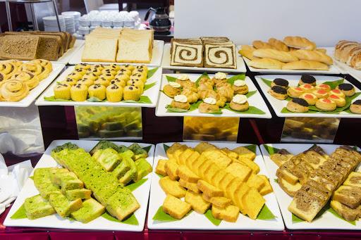 Thực đơn món ăn bánh ngọt tráng miệng sau bữa ăn