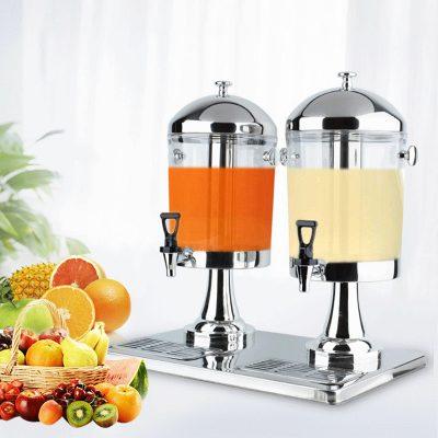 Bình nước trái cây giá rẻ 16 lít 2 ngăn BC2201-R2