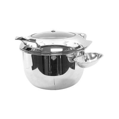 Nồi soup buffet cho bếp từ đáy tròn 2 lớp S502288