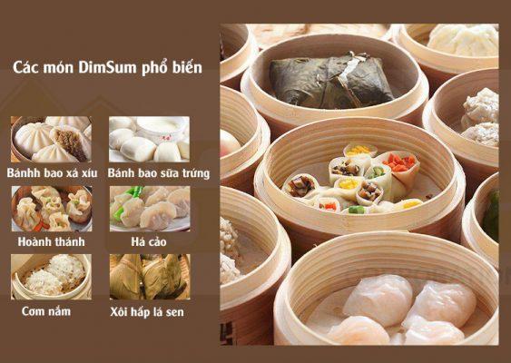 Các món Dimsum phổ biến