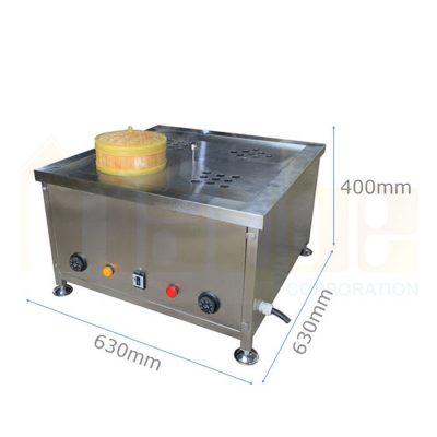 Kích thước Bếp hấp dimsum 4 lỗ inox 304 BD1101