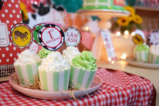 Menu tiệc ngọt sinh nhật cho bé