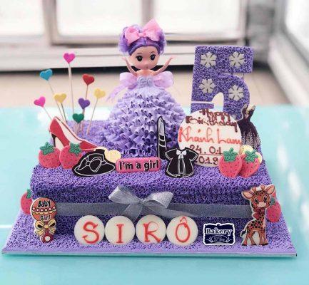 bánh kem sinh nhật cho bé gái