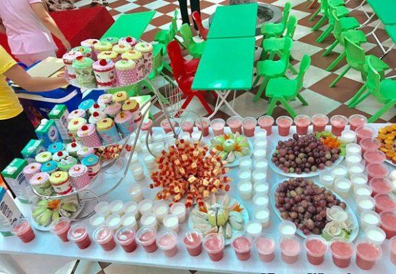 Thực đơn các món tráng miệng cho trẻ