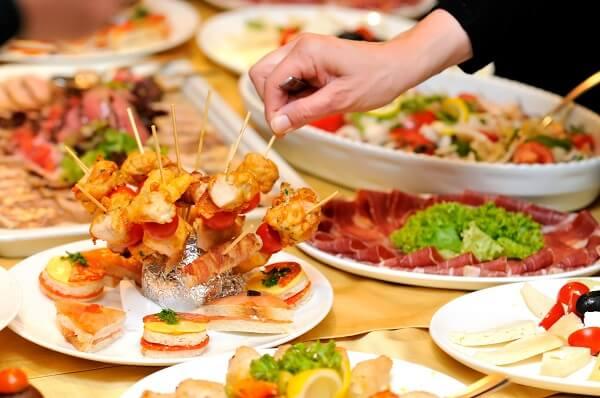 thực đơn món ăn tiệc cưới miền nam